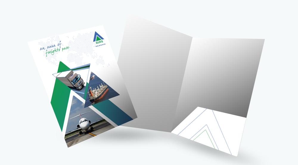 Folder With Pocket Printing Dubai Brochure With Pocket
